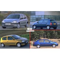 Clio II (B0/1/2), 09.98-06.01
