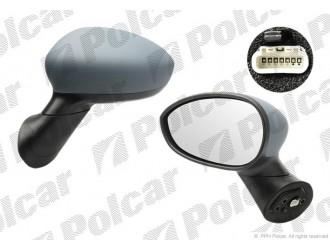 Зеркало левое, электрическая регулировка, выпуклое, обогрев